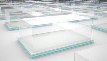Frameless Glass Displays