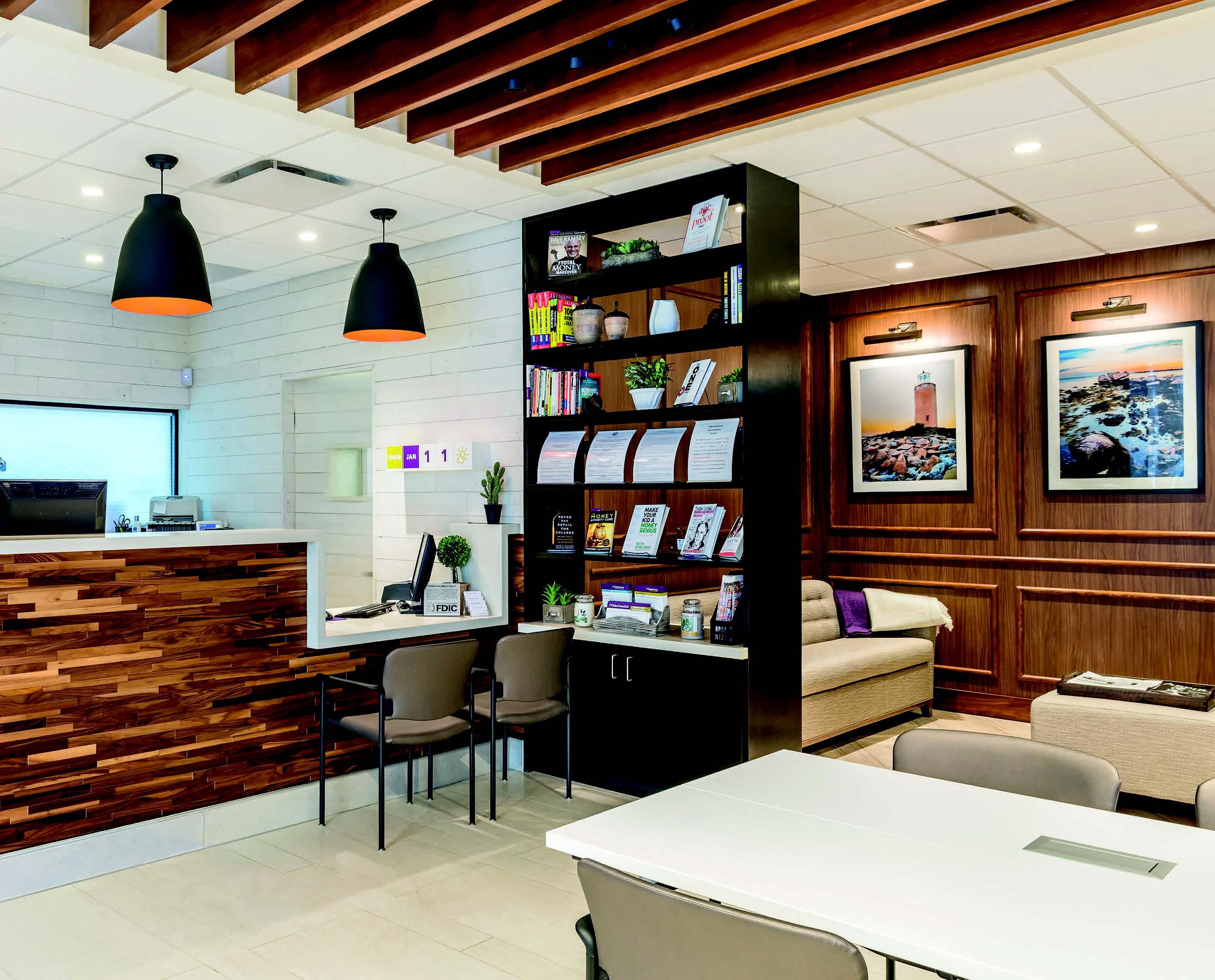 Chelsea Groton Bank Interior