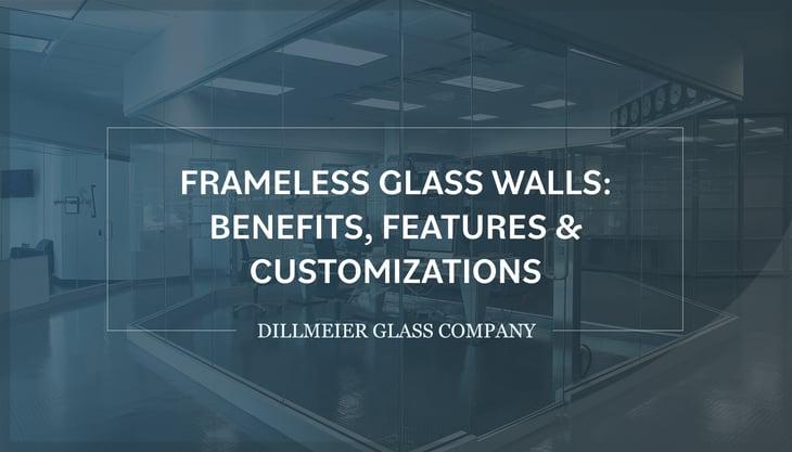 Full glass wall center office with text - Frameless Glass Walls- Benefits, Features & Customizations
