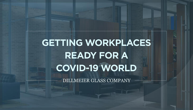 Getting Workplaces Ready for a COVID-19 World Text Graphic Image