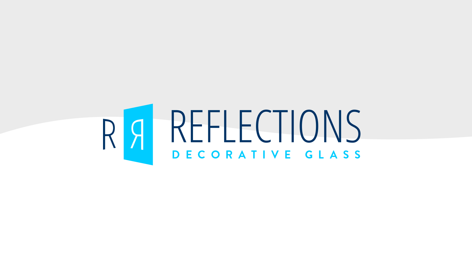 Reflections Logo on Light background