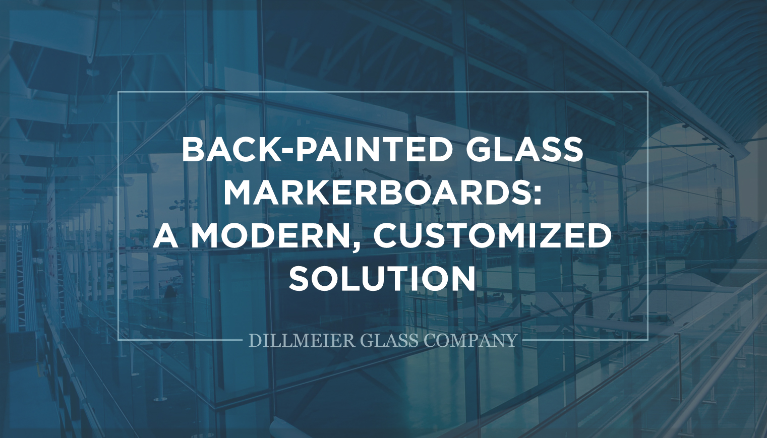 Social Graphic titled - Back-Painted Glass Markerboards - A-Modern, Customized Solution