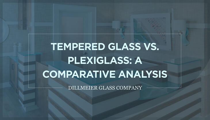 Tempered Glass vs. Plexiglass  A Comparative Analysis Text Graphic