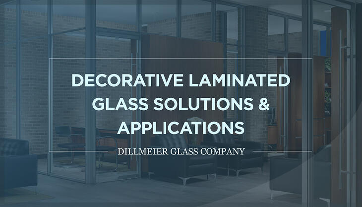 Text Graphic with ghosted glass office walls image titled - Decorative Laminated Glass Solutions & Applications