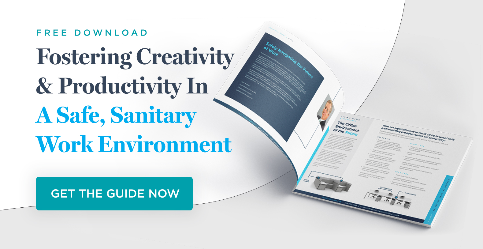 PDF Download Image for Fostering Creativity and productivity in a safe, sanitary work environment PDF