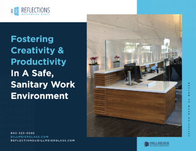 PDF Cover - Fostering Creativity and Productivity in a safe, sanitary work environment