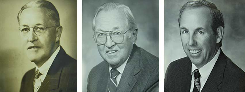 Four Generations of Dillmeier History Headshots