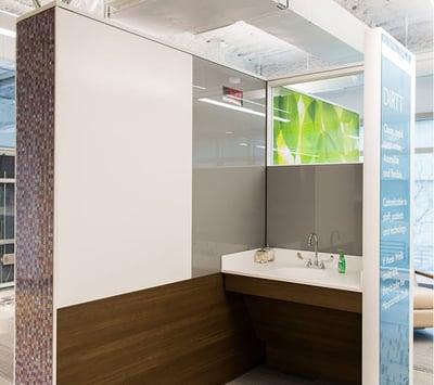 Modular Glass Office Wall