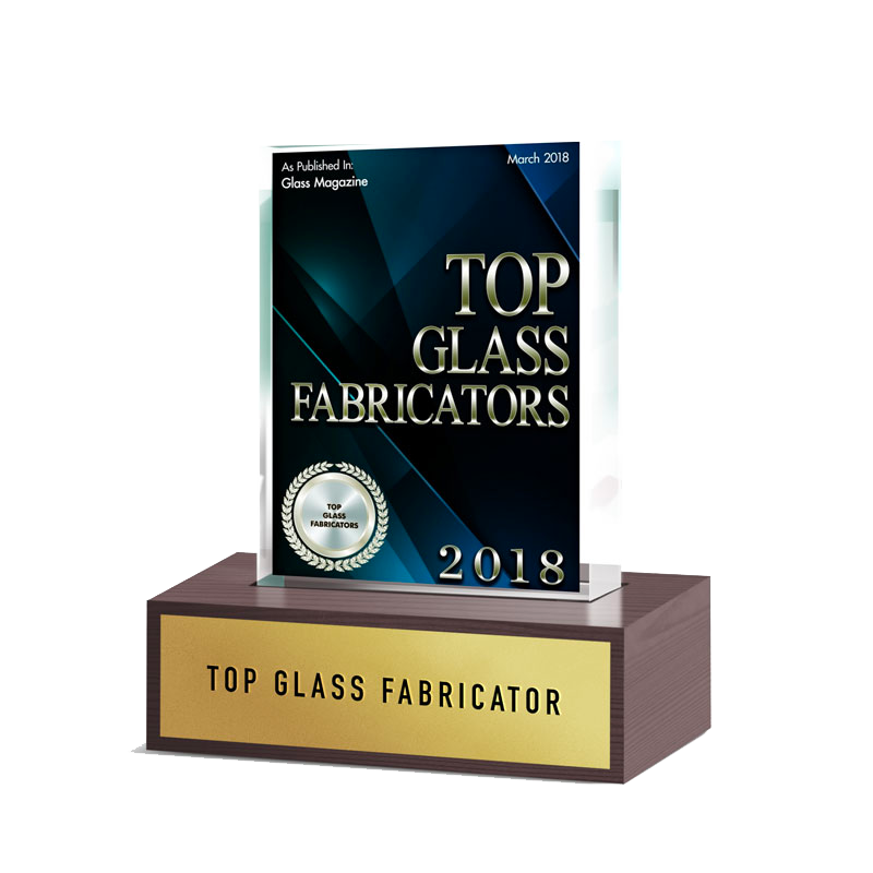 Dillmeier Award Image - 2018 Top Glass Fabricator