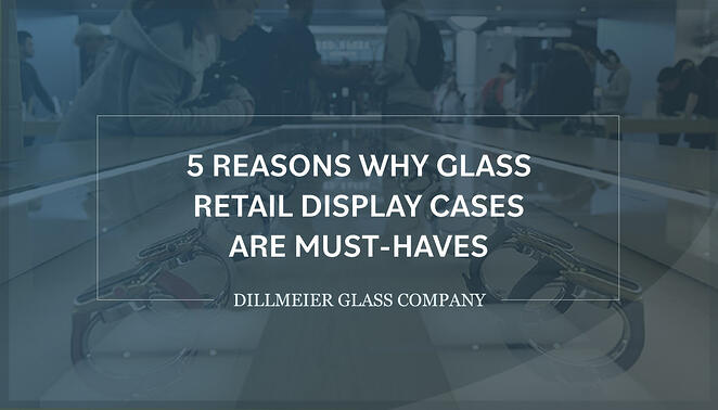 Dillmeier logo with text - 5 Reasons Why Glass Retail Display Cases Are Must-Haves