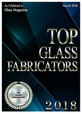 2018 Top Glass Fabricator Award